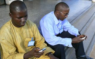 Mobile phone africa ok